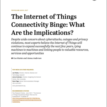 Дослідження: The Internet of Things Connectivity Binge: What Are the Implications?
