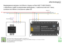 Вимірювання напруги на АЦП TI ADC101c021, з обробкою подій і мін/макс за HW регістрами, шляхом опитування I2C