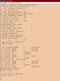 I2C драйвер модуля інтерфейсів користувача IoT-Devices I2CUI1 з обробкою подій