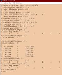 Восьмиканальний розширювач портів PCA9538 – програмний I2C драйвер  з обробкою переривань