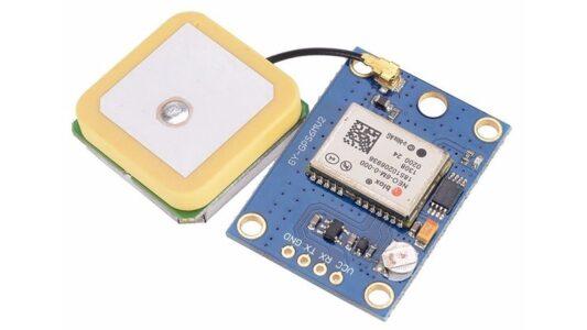 Повідомлення у форматі NMEA, що надсилає u-blox NEO-6M GPS приймач у автоматичному режимі