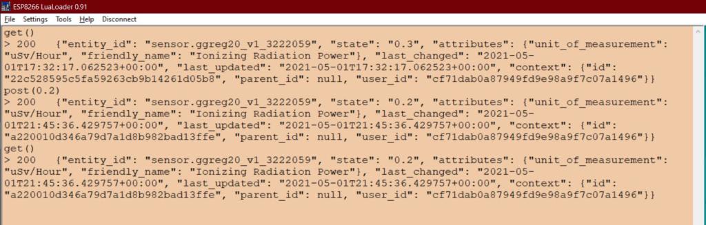 Перевіряємо, чи можемо отримати (HTTP GET) дані з сервера на контролер